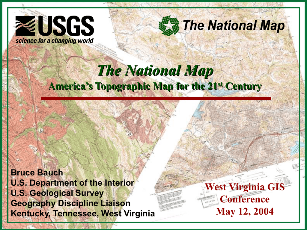 Map Of America Virginia.The National Map America S Topographic Map For The 21 Century West