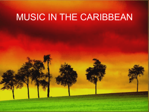 MUSIC IN THE CARIBBEAN