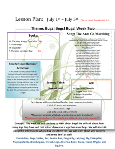 Lesson Plan: July 1 – July 5