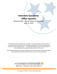 Interview Questions: Office Systems Richard Stokes, Human Resource Consultant May 22, 2012