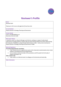 Reviewer's Profile