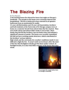The Blazing Fire