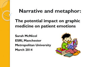 Narrative and metaphor: The potential impact on graphic medicine on patient emotions