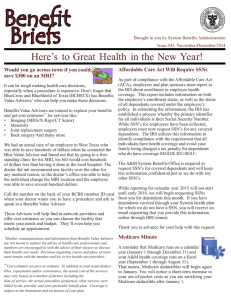 Benefit Briefs  Here's  to Great  Health  in the New...