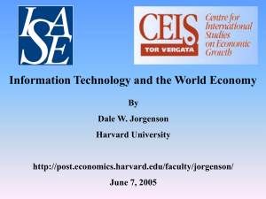 Information Technology and the World Economy
