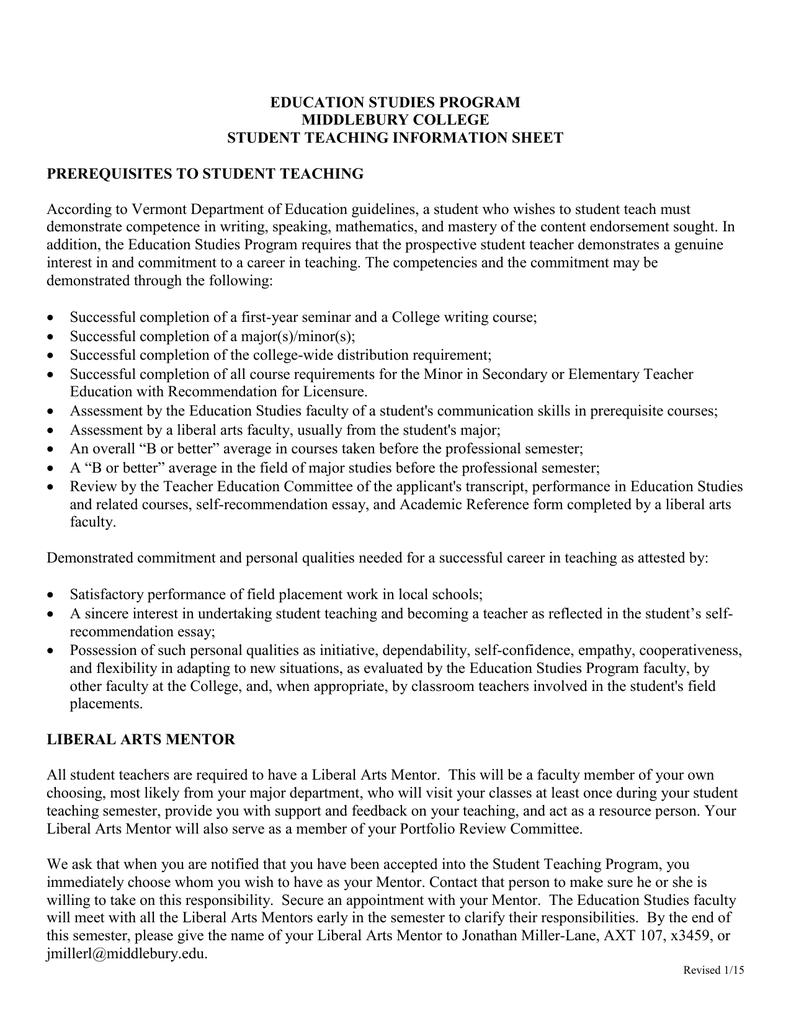 Teacher competency essay
