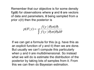 Remember that our objective is for some density y are vectors