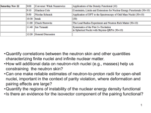 •Quantify correlations between the neutron skin and other quantities