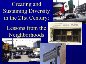 Creating and Sustaining Diversity in the 21st Century: Lessons from the