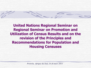 United Nations Regional Seminar on Regional Seminar on Promotion and