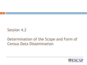 Capacity Building Session 4.2 Determination of the Scope and Form of