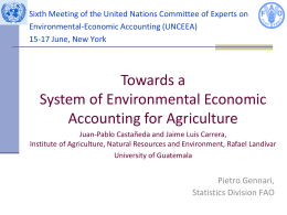 Sixth Meeting of the United Nations Committee of Experts on