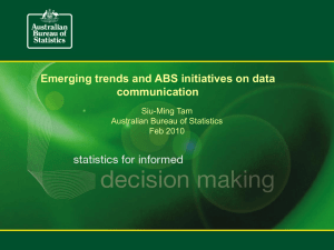 Emerging trends and ABS initiatives on data communication Siu-Ming Tam