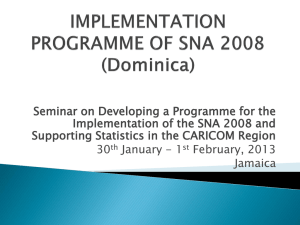 Seminar on Developing a Programme for the