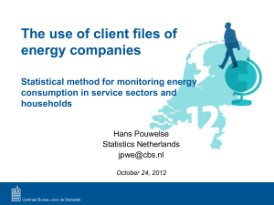 The use of client files of energy companies