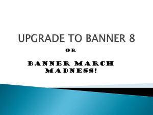 Banner MARCH MADNESS! Or