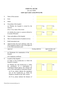 FORM NO. 10CCBC Audit report under section 80-IA(11B)  1.