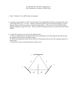 ECE/PH 482/582  Fall 2009   Problem Set #5