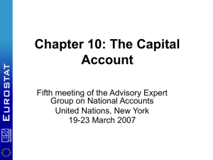 Chapter 10: The Capital Account
