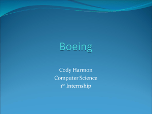 Cody Harmon Computer Science 1 Internship