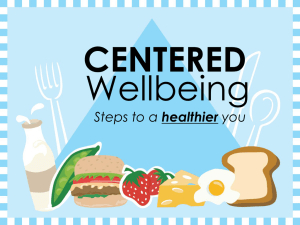 CENTERED Wellbeing healthier