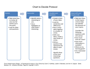 Chart to Decide Protocol
