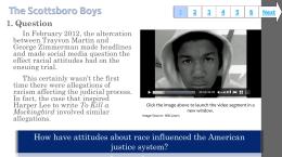 scottsboro boys summary Scottsboro boys and attorney samuel leibowitz image ownership: public domain the scottsboro boys were nine young black men, falsely accused of raping two white women on board a train near scottsboro, alabama in 1931.