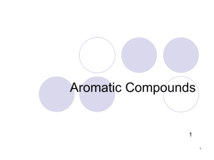 Aromatic Compounds 1