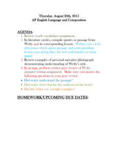 Thursday, August 20th, 2015 AP English Language and Composition  AGENDA: