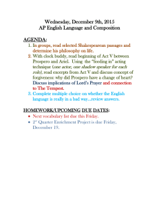 Wednesday, December 9th, 2015 AP English Language and Composition  AGENDA: