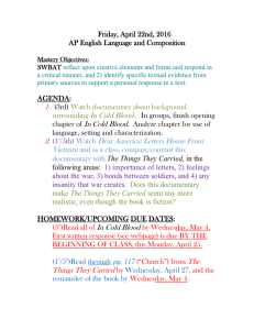 Friday, April 22nd, 2016 AP English Language and Composition