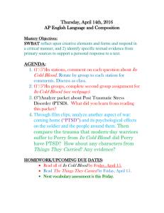 Thursday, April 14th, 2016 AP English Language and Composition