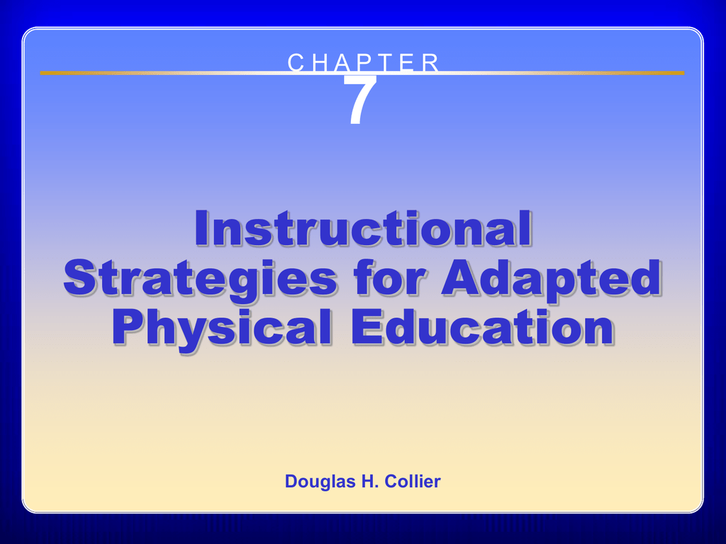 7 Instructional Strategies For Adapted Physical Education