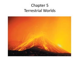 Chapter 5 Terrestrial Worlds
