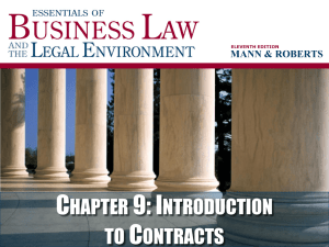 C 9: I HAPTER NTRODUCTION