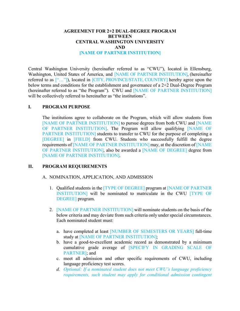 cwu thesis regulations