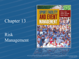 Chapter 13 Risk Management
