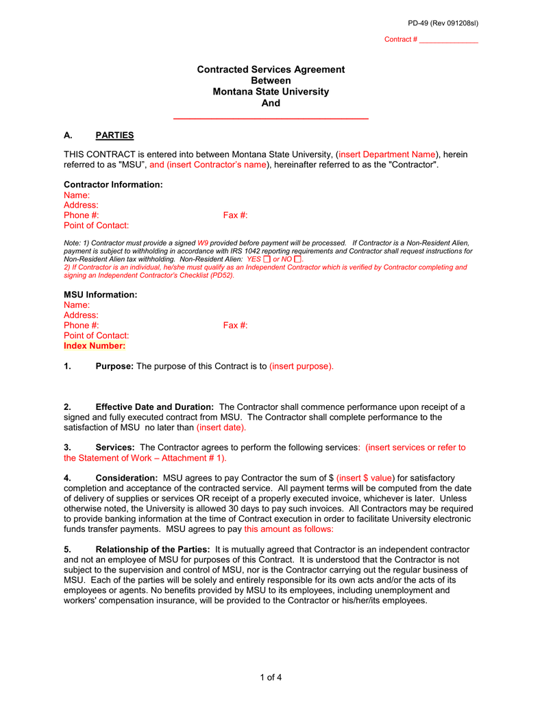 fully executed lease agreement