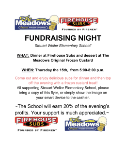 FUNDRAISING NIGHT