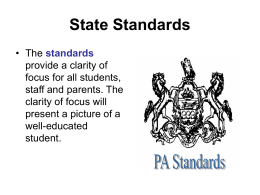 State Standards