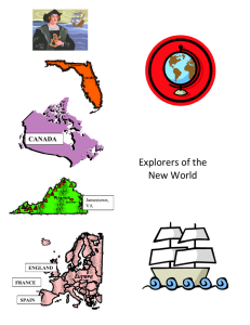 Explorers of the New World CANADA