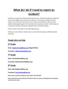 What do I do if I need to report an incident?