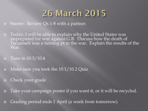 Starter:  Review Qs 1-8 with a partner.