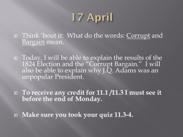 Think 'bout it:  What do the words: Corrupt and