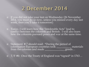 If you did not take your test on Wednesday (26... 2014, you must do so now, unless you missed every...