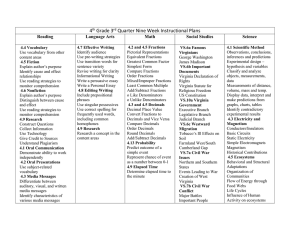 4 Grade 3 Quarter Nine Week Instructional Plans Reading