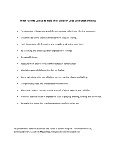 What Parents Can Do to Help Their Children Cope with...
