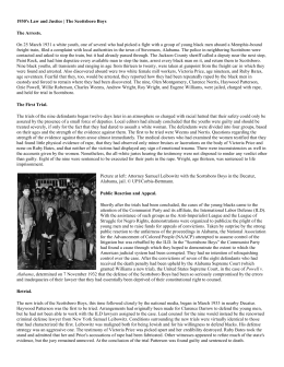 the tragedy of the scottsboro boys essay The scottsboro boys research paper explores the trial of nine black men in the   men hitching a ride on a freight train set a tragic chain of events in motion.