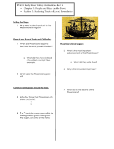 Unit 3: Early River Valley Civilizations Part 2 