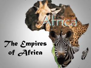 The Empires of Africa